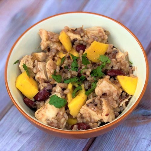 chicken ginger mango rice bowl final 2