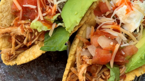 Instant Pot: Shredded Chicken Tacos & Bowls