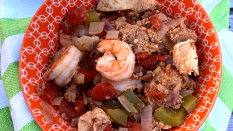 Healthy Crock-Pot Jambalaya