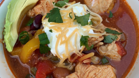 Crock-Pot: Chicken Fajita Chili