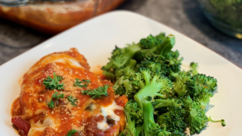 Instant Pot: Chicken Parmesan