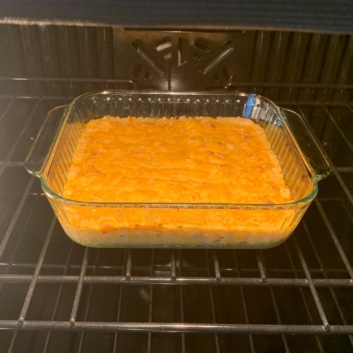 buffalo chicken dip bake for 20 min