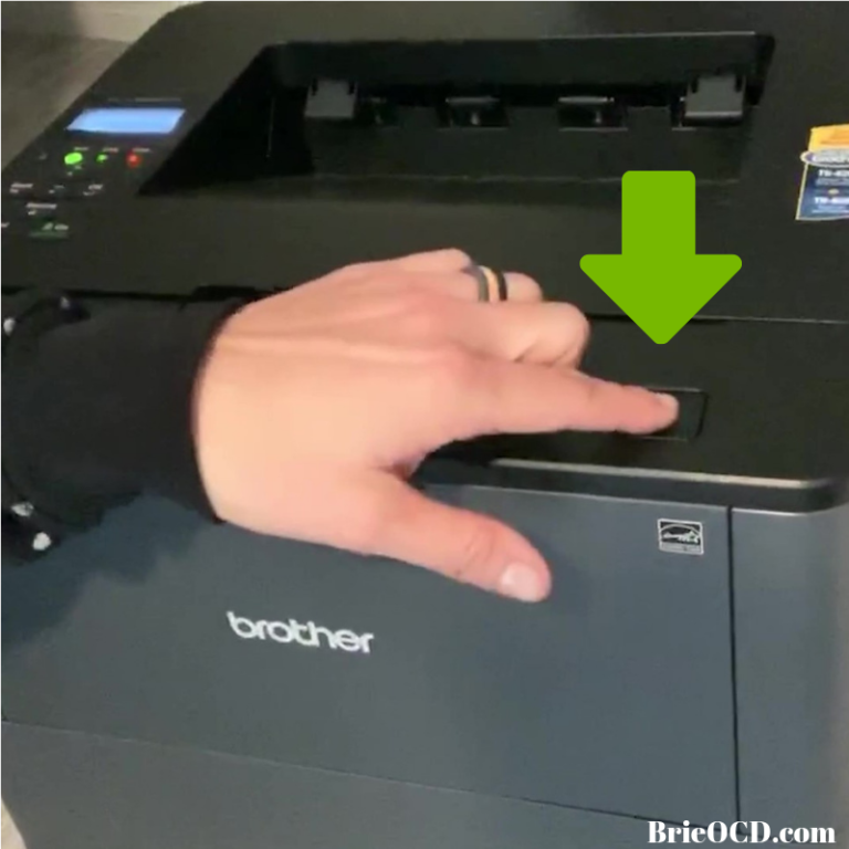 How To: Replace Brother Toner Cartridge - Brie OCD