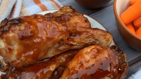 Air Fryer: Honey BBQ Chicken Wings