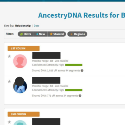 ancestry dna matches1