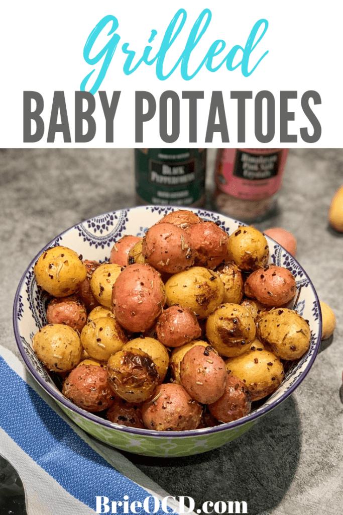 grilled rosemary garlic baby potatoes 1