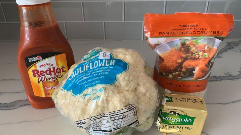 air fryer cauliflower ingredients1