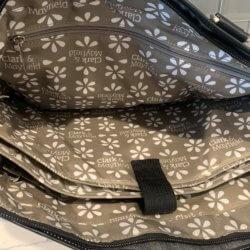 best computer bag big zipper inside