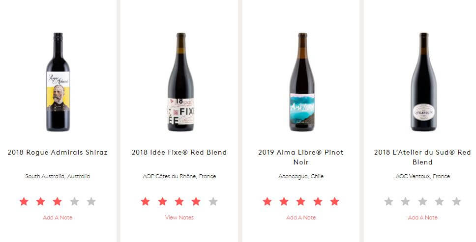 Winc Wine Recommedations